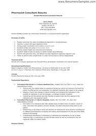 pharmacy resume objective pharmacist resume sample order