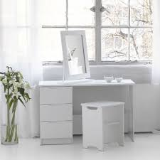 white contemporary dressing table trend white high gloss dressing table stool and mirror option
