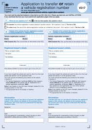 Power Of Attorney Form Uk Free by Retention Of A Personalised Number Plate Simply Registrations Blog
