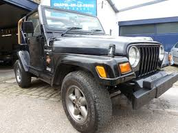 black jeep rubicon used black jeep wrangler for sale derbyshire