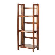 amazon com casual home 3 shelf folding bookcase 14 inch wide