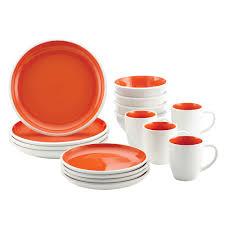 rachael ray cucina sun daisy 12 piece stoneware dinnerware set