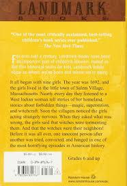 the witchcraft of salem village landmark books shirley jackson