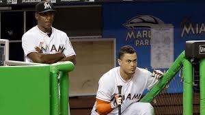 giancarlo stanton marlins jpg giancarlo stanton barry bonds 73 not the home run record nbcs