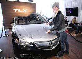 acura commercial actress singing brooklyn decker hits the promo trail at sundance film festival