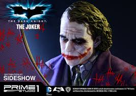 Dark Knight Joker Halloween Costume Dc Comics The Joker Polystone Statue By Prime 1 Studio Sideshow