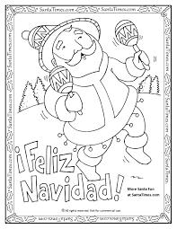 feliz navidad printable coloring