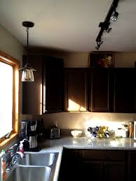 kitchen with track lighting under sinks fascinating allen and roth light fixture for kitchen