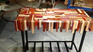scrap wood scrap wood table