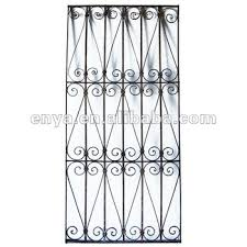 decorative door grill panel metal antique grille for home ornament