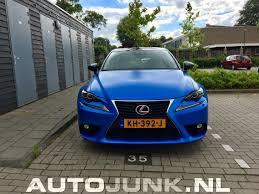 lexus is300h blue lexus is300h foto u0027s autojunk nl 198169