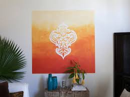 wall stencils for painting beautiful wall stencils houzz with learn how to paint a stenciled ombre wall mural howtos diy with wall stencils for painting