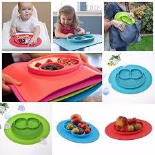 rice table for kids ursmart mini size smile baby rice plate silicone food placemats kids