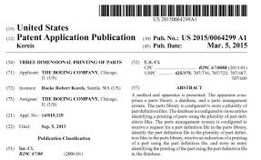 boeing files patent for 3d printed aircraft parts u2014 and yes it u0027s