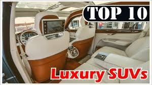 lexus pre owned durban top 10 luxury suv cars in the world 2016 2017 https youtu be
