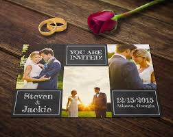 wedding invitation card template photoshop templates