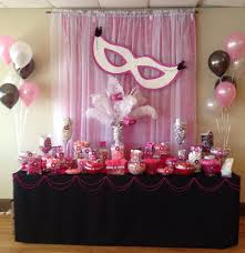 sweet 16 party decorations sweet 16 party ideas via masquerade party decorations