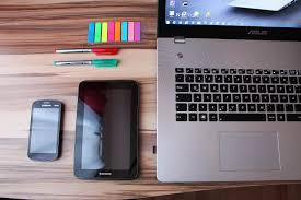 ordinateur de bureau ou portable images gratuites téléphone intelligent la technologie tablette