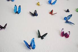 Butterfly 3d Wall Art by Heidi U0027s Hubbub Butterfly Wall Art