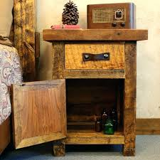 home interior and gifts catalog small rustic nightstands rustic stands black mountain