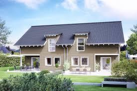 Doppelhaus Doppelhaus Mit überdachtem Freisitz Schwörerhaus