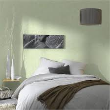 deco chambre vert decoration chambre papier peint vinyle coloris vert amande