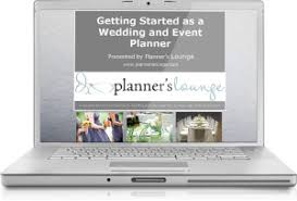wedding planner course wedding planner course