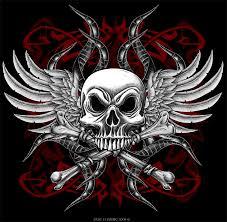 skull and cross bones by oblivion design on deviantart