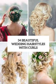 no fuss wedding day hairstyles 34 beautiful wedding hairstyles with curls weddingomania