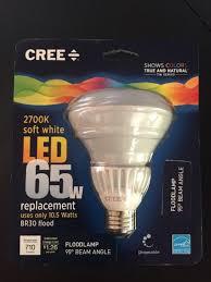65w led flood light cree 65w equivalent soft white 2700k br30 led flood light bulb ebay
