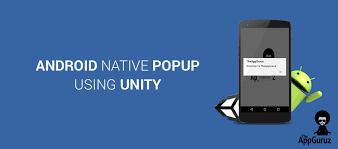 android popup how to create android popup using unity