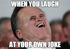 Laughing Face Meme - small face romney meme imgflip