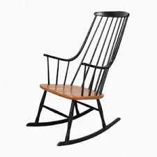 Lucite Rocking Chair Black Grandessa Rocking Chair By Lena Larsson For Nesto 1960s For