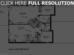 ranch house floor plans with walkout basement remodel interior