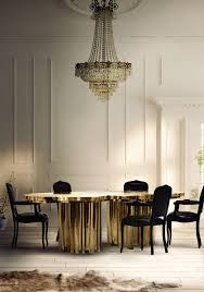dining room design ideas with modern chairs