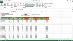 Calculadora De Salario Diario Integrado 2016 | calculadora sdi salario diario integrado en excel youtube