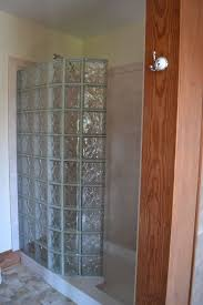 Acrylic Bathroom Wall Panels Eliminating A Shower Door With A Low Maintenance Glass Block Walk