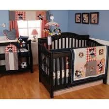 Mickey Mouse Clubhouse Crib Bedding Baby Mickey Mouse Disney Sports Theme Nursery Crib Bedding Set