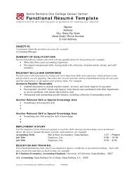 Resume Templates For Word 2010 Functional Resume Template Word 2010 Samp Saneme