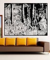 religious wall decals spiritual wall decals stickerbrand vinyl wall decal sticker the baptism of constantine 5418