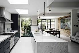 Kitchen Ideas Westbourne Grove An Edwardian House In Ladbroke Grove Modernised Marble Island