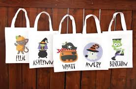 personalized trick or treat bags groopdealz personalized trick or treat bags 28 styles