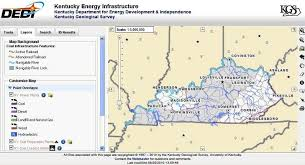 kentucky geologic map information service interactive kentucky energy infrastructure map service now