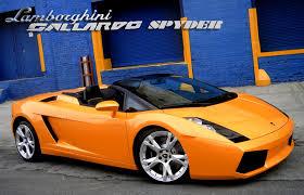 lamborghini gallardo spyder cost lamborghini gallardo price and special edition cars