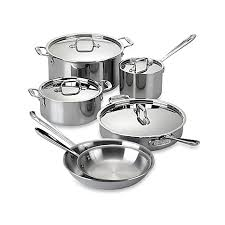 all clad black friday sale all clad stainless steel 10 piece cookware set and open stock
