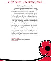sample remembrance day essays