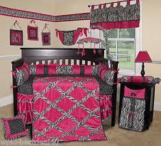 Boutique Crib Bedding Baby Boutique Pink Zebra 14 Pcs Crib Bedding Set Incl