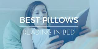 bed pillow for reading what are the best pillows for reading in bed elite rest