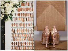 copper decorations inspired by copper amore events