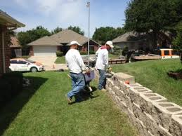 replace railroad tie retaining wall fort worth tx
